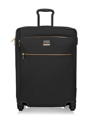 Larkin - Jess Short Trip 26-Inch Expandable 4-Wheel Suitcase - Black