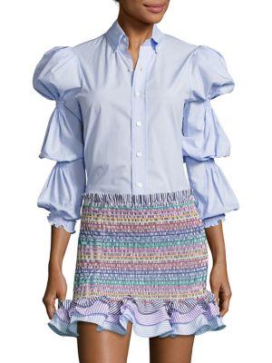 Ophelia Puffed Sleeve Shirt by Petersyn