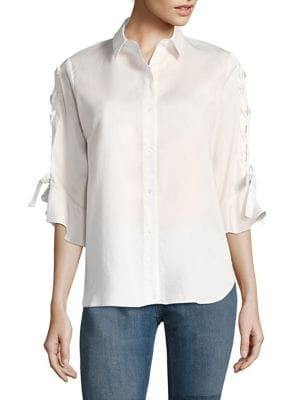 Armley Lace-Up Shirt by IRO