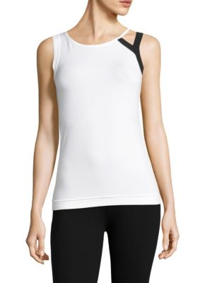 Logo Printed Jersey Tank Top by Y-3