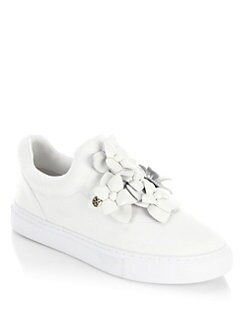 very cheap sale online Tory Burch Blossom Slip-On Sneakers online Shop discount big discount buy cheap clearance store 8Ww5UR5