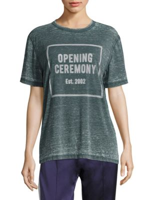 OC Logo Burnout Tee by Opening Ceremony