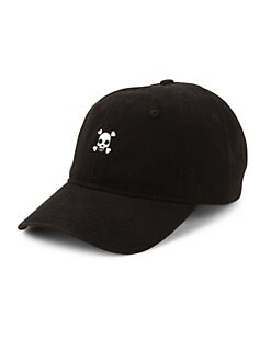 Block Headwear. Skull Cotton Baseball Cap cdae3cd157df