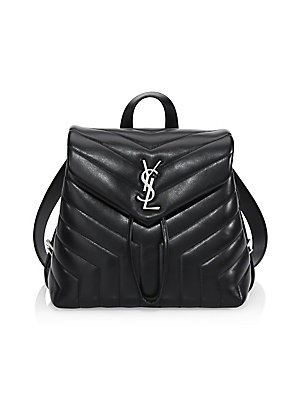 4ac5540b359 Saint Laurent - Loulou Matelassé Leather Backpack - saks.com