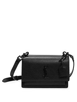70d0f2ba070 Saint Laurent. Large Vicky Patent Leather Monogramme Shoulder Bag.  2590.00  · Medium Sunset Monogram Leather Satchel BLACK. QUICK VIEW. Product image