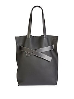 6556eead285c QUICK VIEW. Loewe. Vertical Belt Grained Leather Tote