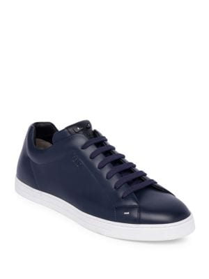 fendi-face-leather-low-top-sneakers by fendi
