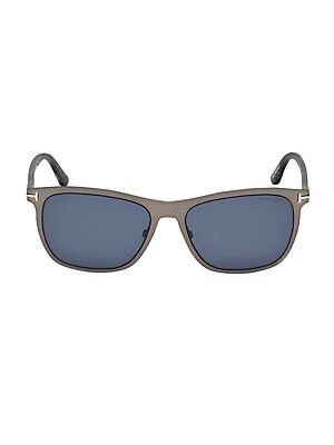 5d61dcb948 Tom Ford - Alasdhair 55MM Square Sunglasses - saks.com