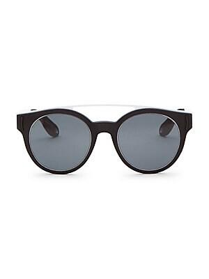 7b5ecf60783d Halogazer Black Oversized Sunglasses.  119.00. Givenchy - 52mm Tinted  Aviator Frame