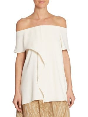 Off-the-Shoulder Top by Halston Heritage