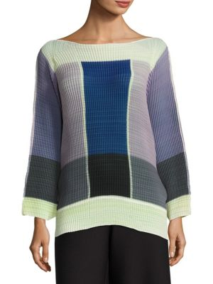 Batwing Sleeve Top by Issey Miyake
