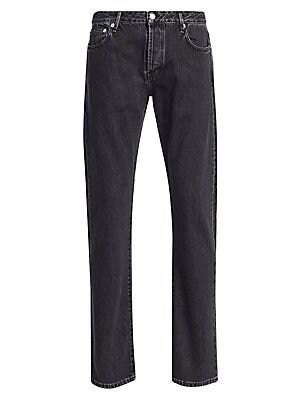d15f4e9c47ee3 Officine Generale - Kurt Five-Pocket Cotton Jeans - saks.com