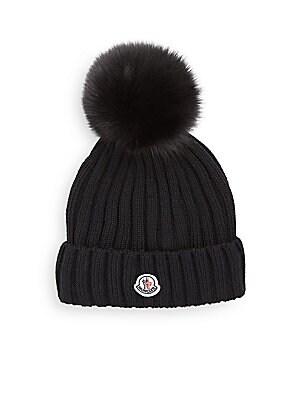 e2a677420fc Moncler - Berretto Fur Pom-Pom Hat - saks.com