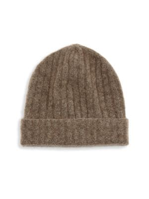 Saks Fifth Avenue  COLLECTION Rib-Knit Beanie
