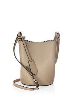b675a60d7f Burberry Lorne Leather Hobo Bag