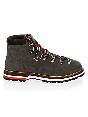 Moncler Peak Lace Up Leather Boots
