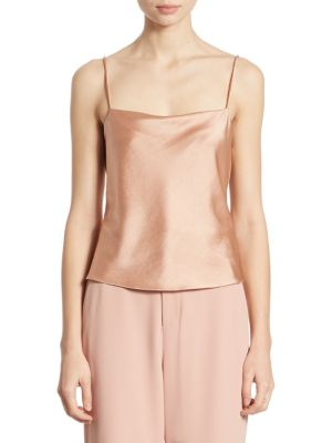 Harmon Satin Camisole by Alice + Olivia