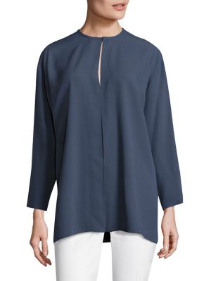 Cady Long Sleeve Tunic by Piazza Sempione