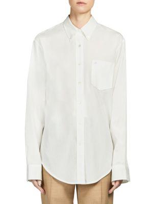 Beatrix Init Cotton Dress Shirt by Acne Studios