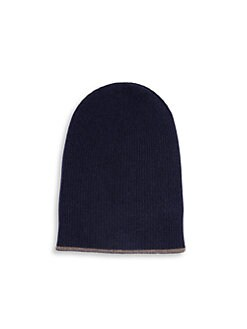 afbbc580cd113 Brunello Cucinelli. Reversible Cashmere Hat