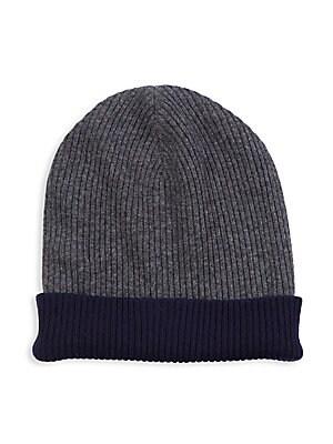 4c99d526113f0 Brunello Cucinelli - Reversible Cashmere Hat