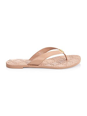 4981cf3fcc1b Tory Burch - Monroe Leather Thong Sandals - saks.com