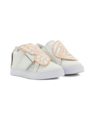 Babys Butterfly Leather Sneakers