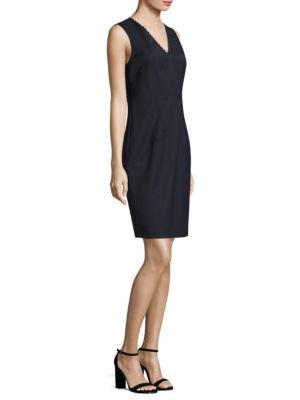Buy Elie Tahari Linzi Embellished Shift Dress online with Australia wide shipping