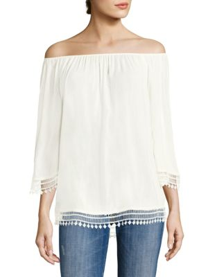 Lilibeth Off-the-Shoulder Top by Tart