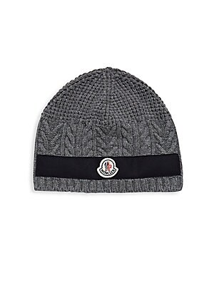 Moncler. Knitted Wool Beanie