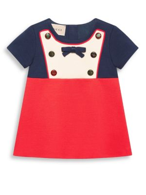 Babys BibDetail Colorblock Dress