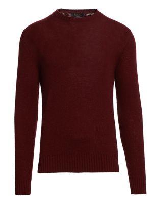 Loro Piana Chunky Cashmere Crewneck Sweater