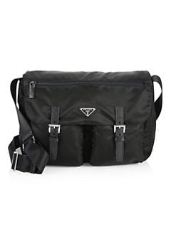 7ae49ecfffa97a QUICK VIEW. Prada. Nylon Messenger Bag