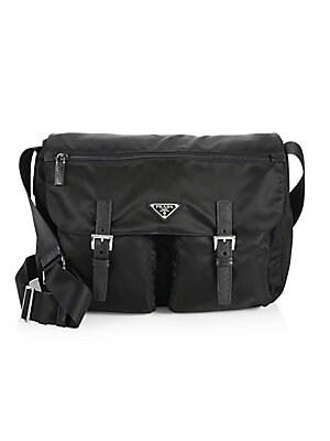 ac1c6c1db719 Prada - Nylon Messenger Bag - saks.com
