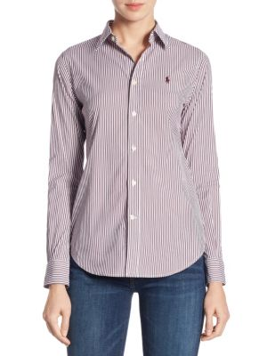Stretch Slim-Fit Striped Shirt by Polo Ralph Lauren