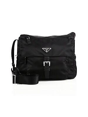 c8ab7b8bbc4859 Prada - Small Nylon Crossbody Bag - saks.com