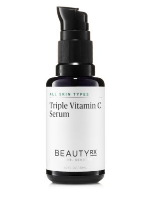 Image of The Triple Vitamin C Serum by BeautyRx by Dr. Schultz brightens the appearance of skin and leaves it feeling softer and smoother. With 10% Antioxidant Serum and three concentrated forms of Vitamin C, the formula reduces the appearance of dark spots, hyper