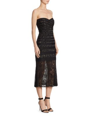 Buy Herve Leger Pailey Strapless Knit Dress online with Australia wide shipping