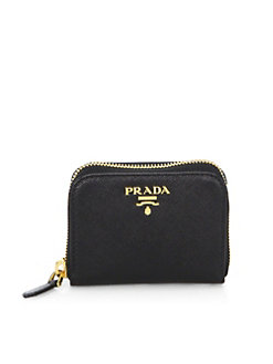 Prada Prada Saffiano Leather Bifold Wallet | Bluefly.Com