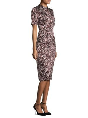 Buy DKNY Short Sleeve Mockneck Sheath Dress online with Australia wide shipping