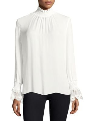 Sasha Silk Blouse by KOBI HALPERIN