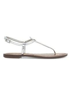 a262bd106 Sam Edelman. Gigi Leather Thong Sandals