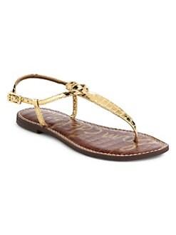 12c245a836b4 Sam Edelman. Gigi Thong Slide Sandals