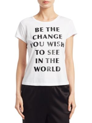 Cicely Classic Change Tee by Alice + Olivia