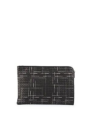 097cb738eb Bottega Veneta - Intrecciato Leather Briefcase - saks.com