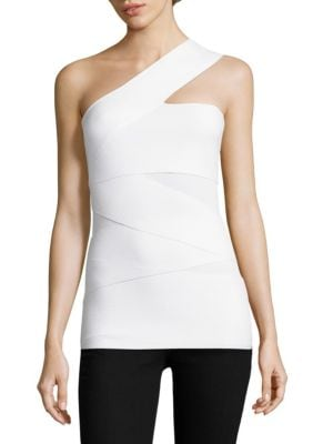 Spin Out One-Shoulder Top by Bailey 44