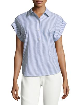 Stripe Popover Sleeves by Vineyard Vines