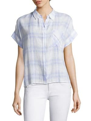 Whitney Casual Button Down Shirt by Rails