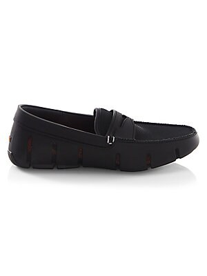 Image of Cool loafers in a TPU injection molded construction TPU/mesh/micro injection upper Slip-on style Mesh lining Rubber sole Rubber EVA insole Imported. Men's Shoes - Contemporary Lifestyle. Swims. Color: Navy. Size: 8.5 M.