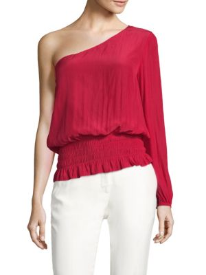 Janey One-Shoulder Top by Ramy Brook